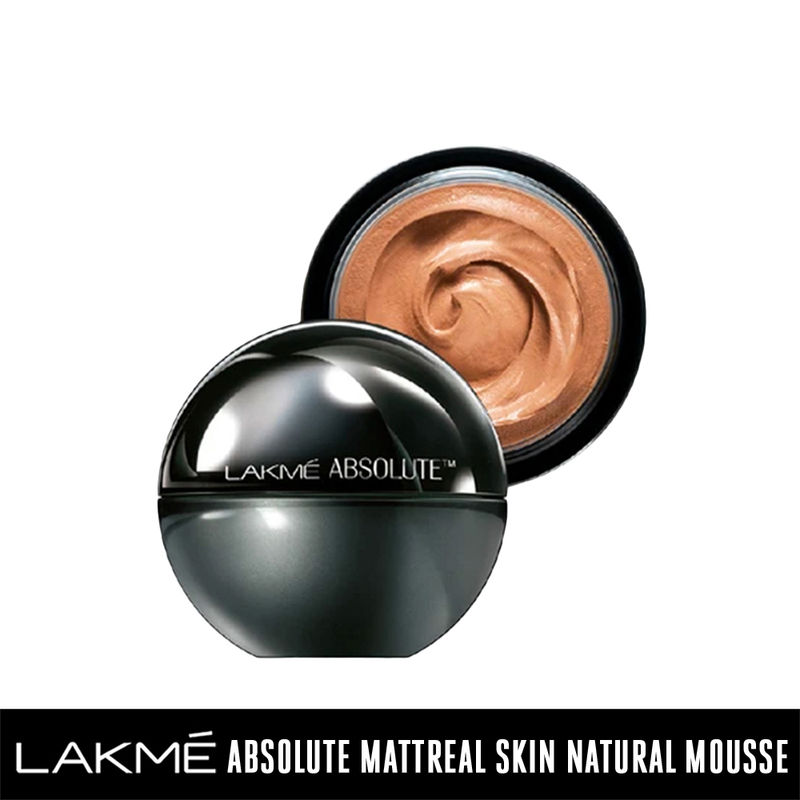 Lakme Absolute Skin Natural Mousse - Almond Honey 06