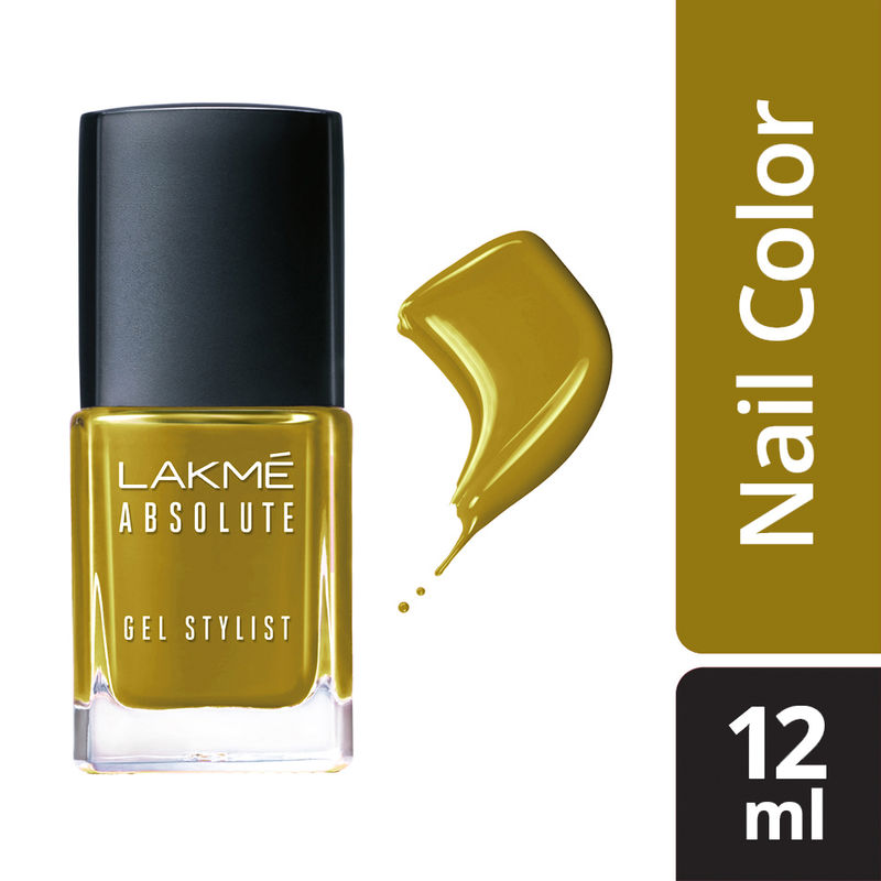 Lakme Absolute Gel Stylist Nail Color - Soldier