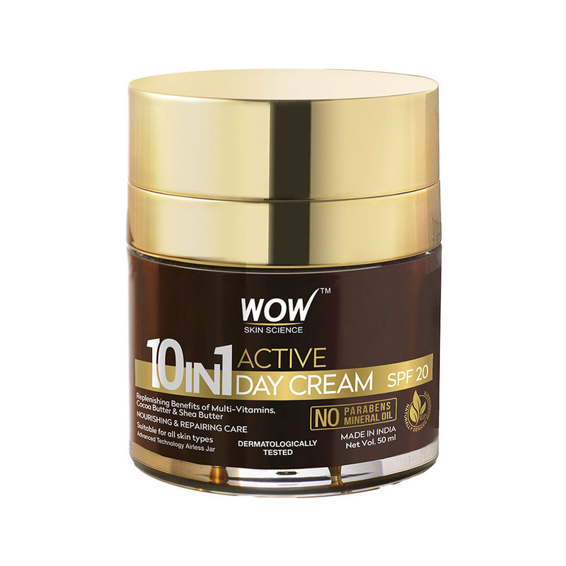 WOW Skin Science 10-in-1 Active Day Cream SPF 20