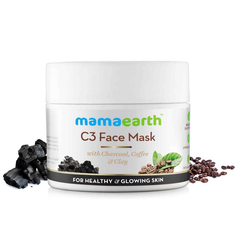 C3 - With Charcoal , Coffee & Clay For Healthy Skin