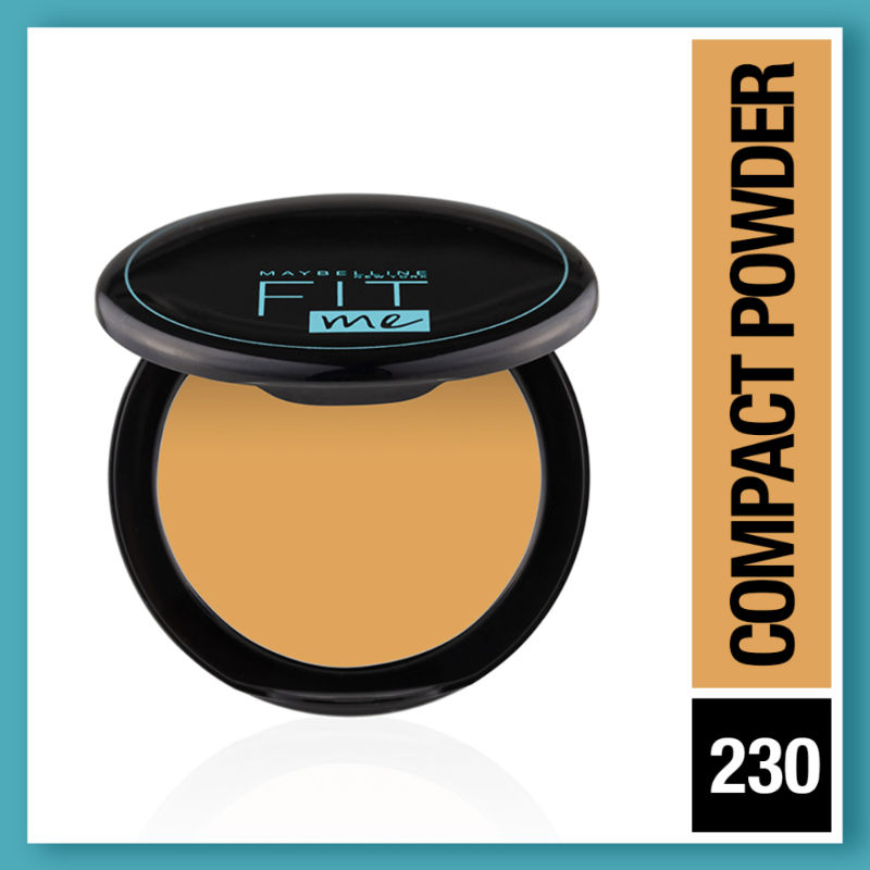 Maybelline New York Fit Me 12hr Oil Control Compact - Natural Buff
