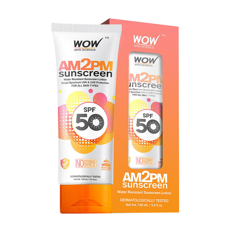WOW Skin Science AM2PM Sunscreen SPF 50 Lotion