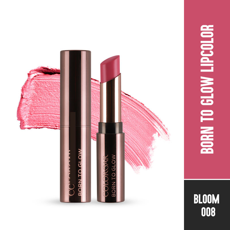 Colorbar Born To Glow Lipcolor - Bloom