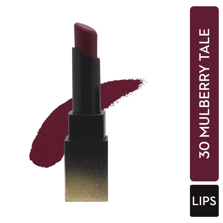 SUGAR Nothing Else Matter Longwear Lipstick - 30 Mulberry Tale (Deep Berry /Red tone)/ Mulberry)