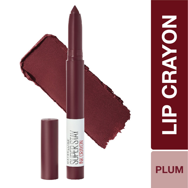Maybelline New York Super Stay Crayon Lipstick - 65 Settle for More