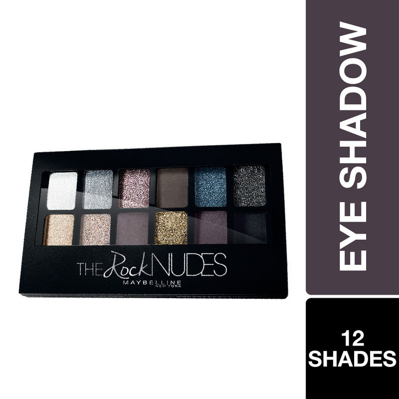 Maybelline New York The Rock Nudes Eye Shadow Palette