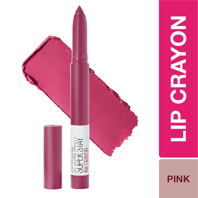 Maybelline New York Super Stay Crayon Lipstick - 35 Treat Yourself