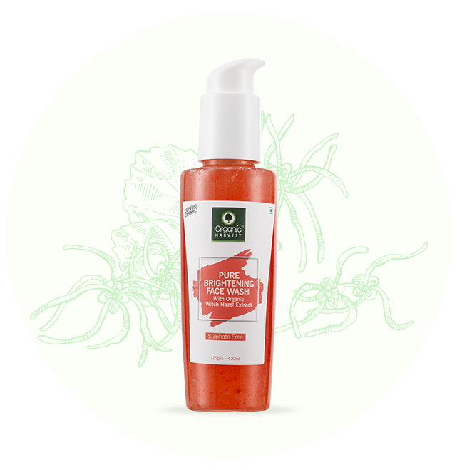 Pure Brightening Face Wash