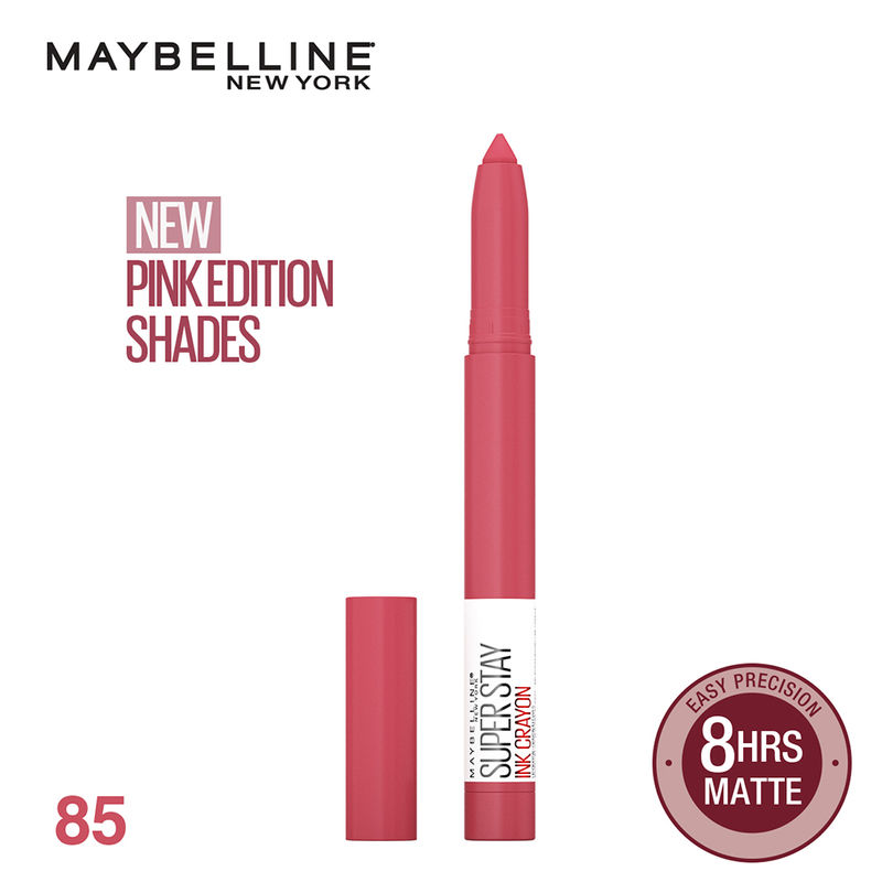 Maybelline New York Super Stay Crayon Lipstick - Change Is Good