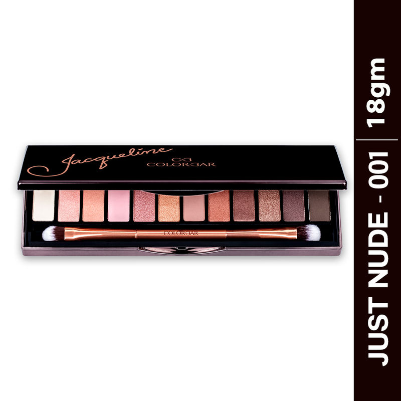 Colorbar X Jacqueline Just Nude Eyeshadow Palette