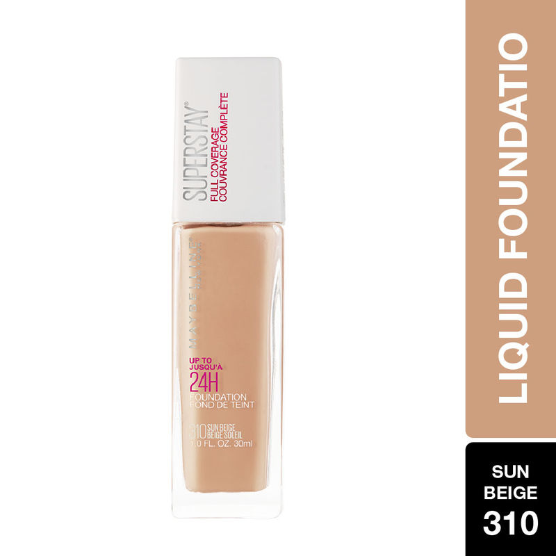 Maybelline New York Super Stay Full Coverage Foundation - Sun Beige 310