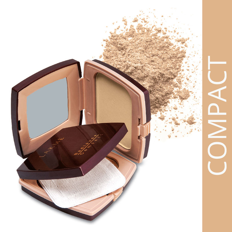 Lakme Radiance Compact - Natural Coral