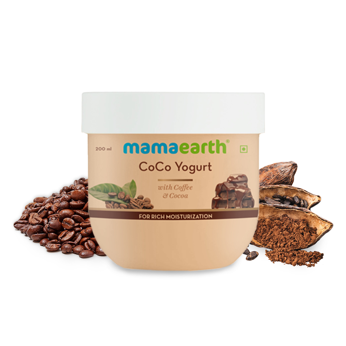 Mamaearth Coco Body Yogurt Lotion For All Skin Types Skin With Coffee And Cocoa