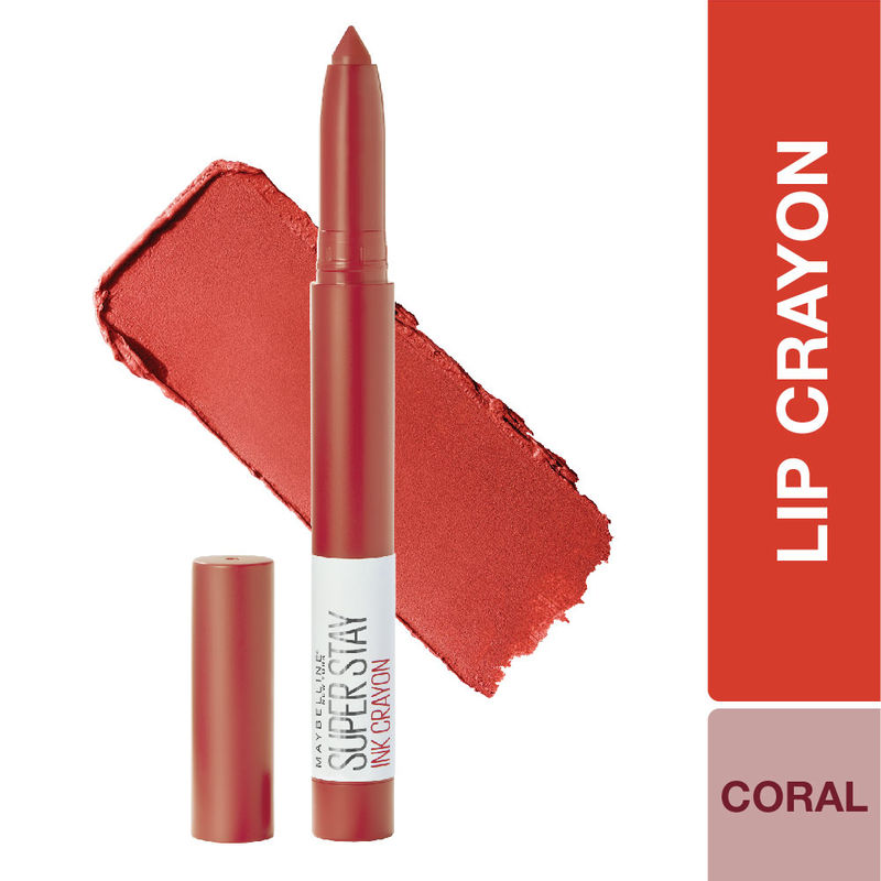 Maybelline New York Super Stay Crayon Lipstick - 40 Laugh Louder