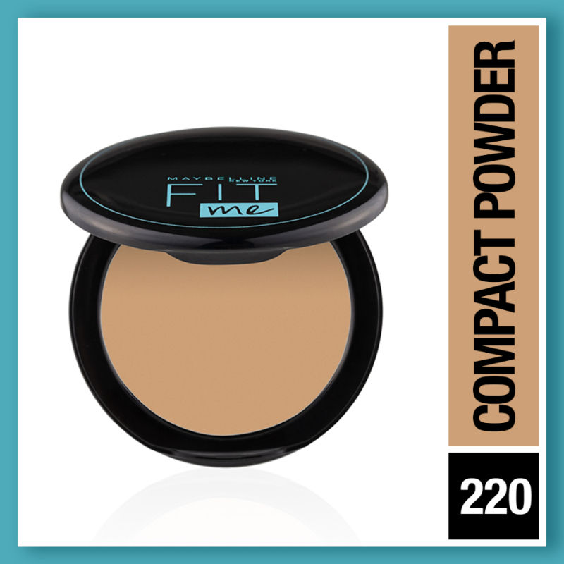 Maybelline New York Fit Me 12hr Oil Control Compact - Natural Beige
