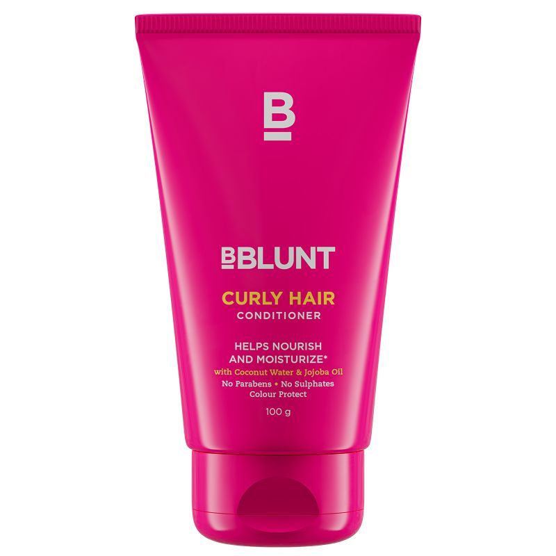 BBLUNT Curly Hair Conditioner With coconut water & jojoba Oil