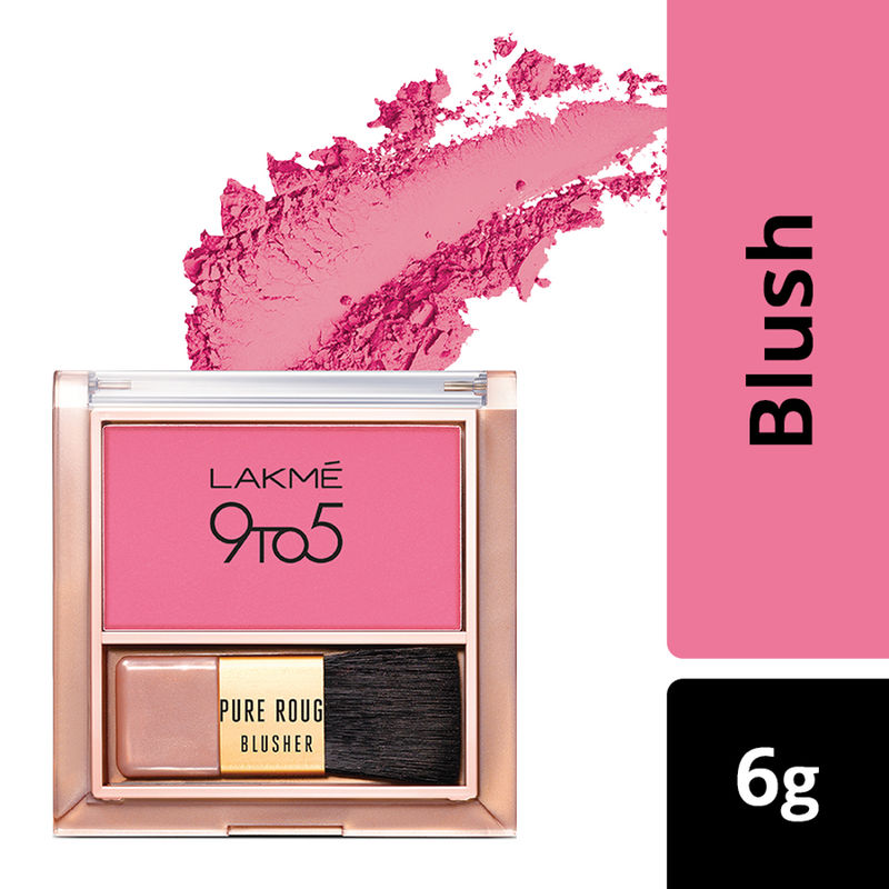 Lakme 9 To 5 Pure Rouge Blusher - Pretty Pink